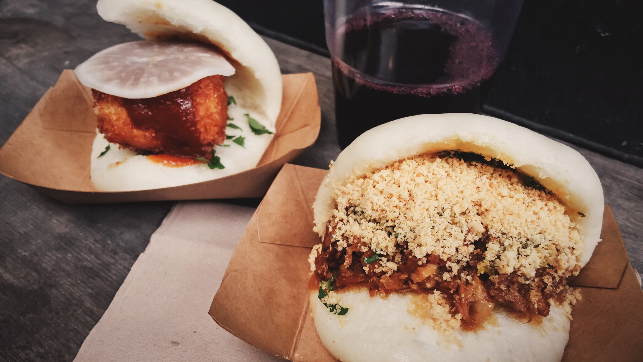 Classic and Daikon Bao at Bao